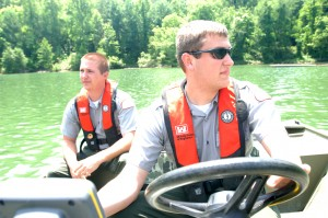 Park Rangers want you to wear your life jacket