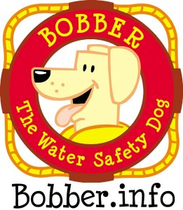 Bobber the Water Safety Dog wants kids to have fun learning about water safety at www.bobber.info. (USACE graphic)