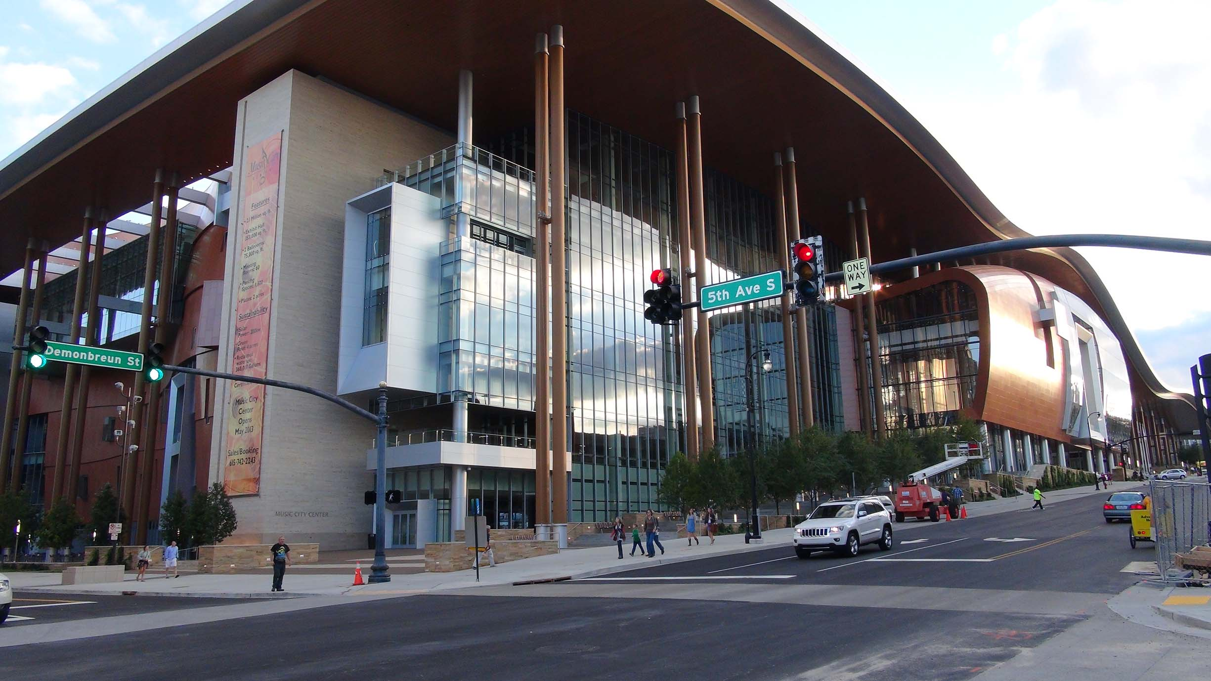 This is Music City Center Sept. 21, 2013. (Photo by Lee Roberts)