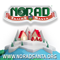 NORAD is tracking Santa again this Christmas. Be sure to follow his journey at www.noradsanta.org.